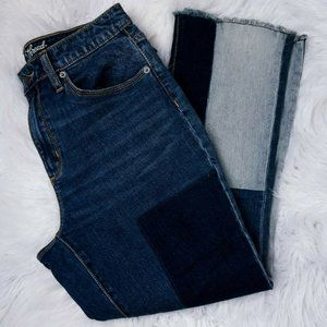Universal Thread Jeans High Rise Kick Boot Crop